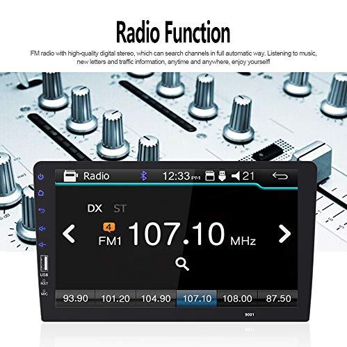 XGODY 9901 Lecteur FM MP5 avec /écran Tactile pour Radio Bluetooth 1 DIN 22,9 cm