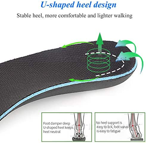 LONG-X 2 Stücke Eva Orthesen Einlegesohlen Für Schuhe Flache Fuß Arch Support Harte Schuhe Pad Orthopädische O X Bein Valgus Varus Schuh einfügen Pad,XS