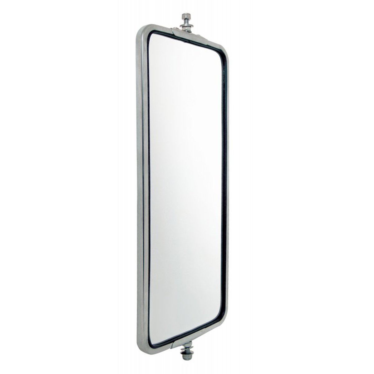 United Pacific 86501B Stainless West Coast Led Heated Mirror 7 X 16