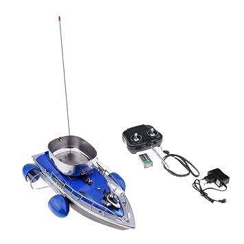 Fische Aufmerksamkeit anzuziehen Baoblaze 1 St/ück K/öderboot mit Fernbedienung f/ür Nachtfischenk/öder