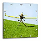 3dRose dpp_96978_1 Washington, Palouse, Crop Duster Working Wheat Farm-US48 TEG0344-Terry Eggers-Wall Clock, 10 by 10-Inch