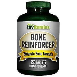 TNVitamins Bone Reinforcer with Calcium/Magnesium/Boron Citrate (250 Tablets)