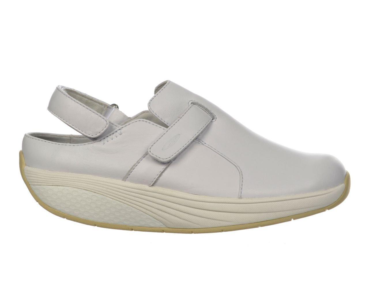 MBT Women's Flua Work Walking Shoe EU 38 / US 7-7.5 White
