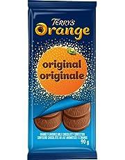 Terry's Orange - Original Bar - Orange Flavoured Milk Chocolatey Confection, 90 Grams