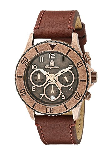 Burgmeister Men's BM532-315 Analog Display Quartz Brown Watch