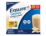 Ensure Original Nutrition Shake, Vanilla, 8 Ounces, 16 Count For Sale