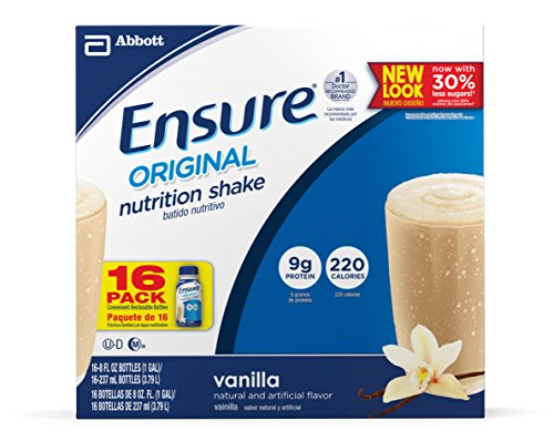 (Ensure Original Nutrition Shake, Vanilla, 8 Ounces, 16)