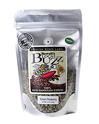 Hawaii's Local Buzz Premium Black Label Peaberry, 7 Ounce