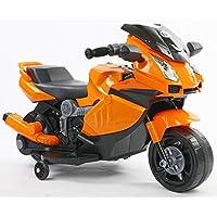 Toyhouse Mini Lamborghini Superbike Rechargeable Battery Operated Ride-on for Kids(2 to 4Yrs), Orange