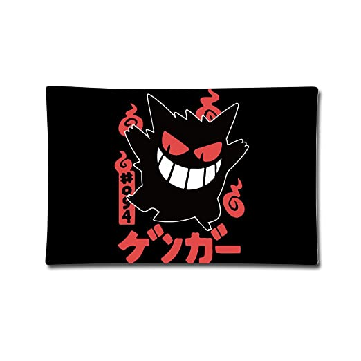 Pokemon Go Scary Gengar cojín funda de almohada de funda 20 ...