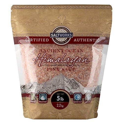 Ancient Ocean Himalayan Pink Salt, Medium, 5 Pound