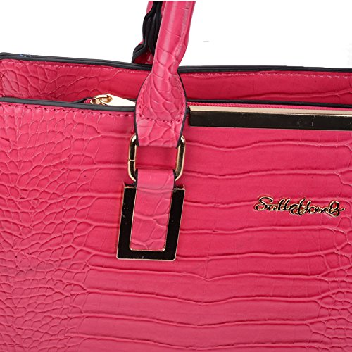 by Crocodile Young Pink Hot Young Pink Hot Pink by Sally Hot Crocodile Sally Crocodile Tote Tote aFp0xqT