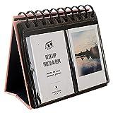 Urvoix (TM) 68Mini Álbum de fotos de computadora para Fujifilm Instax Mini 87s 2550s 90Película, tarjeta de negocios, Rosado, 1