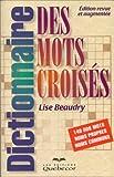 Image de Dictionnaire des mots croisés