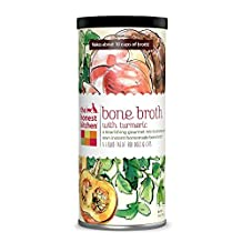 The Honest Kitchen Beef Bone Broth: Natural Human Grade Functional Liquid Treat with Turmeric Spice for Dogs & Cats, 5 oz