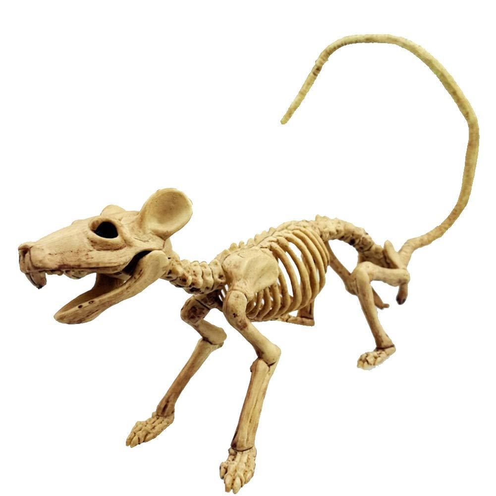Halloween Rat squelette en plastique os du squelette animal simulative squelette D/écoration pour Halloween Horror D/écoration