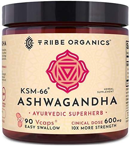Ashwagandha Vegetarian Capsules Efficacy Withanolides product image