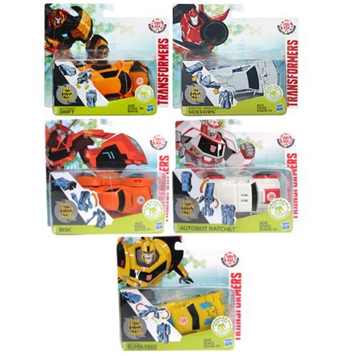 Transformers Robots in Disguise One-Step Changers Wave 10