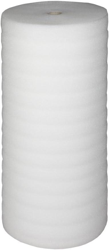 Bb-verpackungen/® parquet laminado almohadilla de aislamiento ac/ústico subyacente Bb envolturas de aislamiento al ruido de impacto 50 m/² 2 mm coj/ín