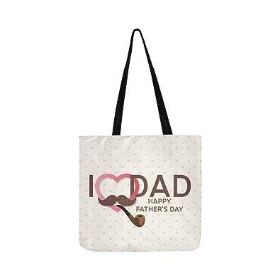 2c94d24d6b7 Amazon.com: Happy Day Greeting Card Canvas Tote Handbag Shoulder Bag ...