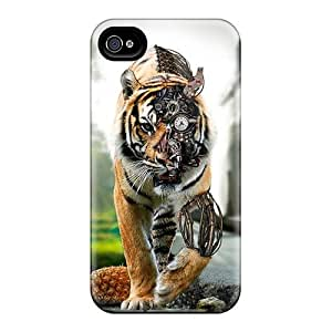 For Iphone 4/4s Protector Case Amazing Tiger Phone Cover