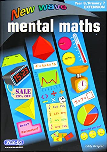 Book New Wave Mental Maths Year 6/Primary 7