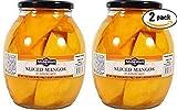 Del Destino Sliced Mangos In Natural Juice, 42 Oz Jar (Pack of 2, Total of 84 Oz)