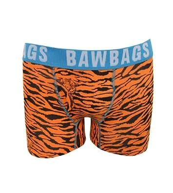 Bawbags Calzoncillos Boxer Tigre - Naranja - Naranja, Large