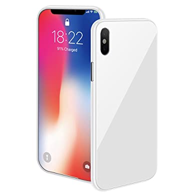 new arrival 45eff a0c0c iPhone X/XS Max/XS/ XR Magnetic Case with Metal Frame Glass Back ...