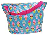 Cheap iscream 'Ice Cream Cones' Weekender 23.5″ x 16″ x 9″ Travel Tote Bag with Adjustable Strap