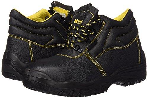 Wolfpack 15018030 Botas de seguridad de piel, talla 42, color negro: Amazon.es: Bricolaje y herramientas