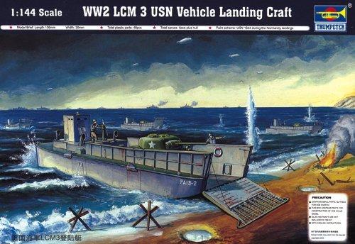トランペッター 1/144 アメリカ軍LCM プラモデル