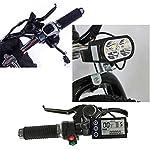 Hyuhome-Ebikes-per-Adulti-Che-Piega-Bici-elettrica-MTB-Dirtbike-26-48V-10Ah-350W-IP54-Disegno-Impermeabile-Facile-da-riporre-Pieghevoli-elettriche-Biciclette-per-Gli-Uomini
