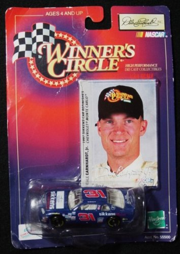 Winner's Circle Dale Earnhardt Jr. Blue #31 Sikken's 1/64 Scale Stock Car Series Diecast and Collector's Trading (Dale Earnhardt Collectors)