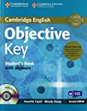 Objective Key Student's Book Pack (Student's Book with Answers with CD-ROM and Class Audio CDs(2)), Annette Capel and Wendy Sharp, 110766893X
