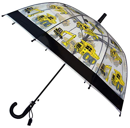 (Foxfire for Kids Clear Dome Umbrella (Black Construction)