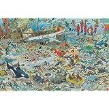 Diset - 617080 - Puzzle Classique - Comic 2000 - Au Fond De La Mer - 2000 Pièces