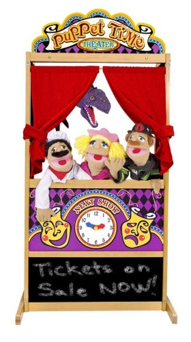 Melissa and Doug Toys: Deluxe Puppet Theater