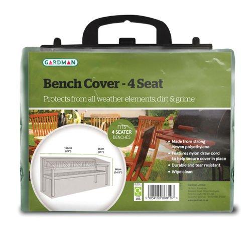 Gardman Verde Protezione 4 posti Bench Cover (89 x 198 x 66 cm 32211