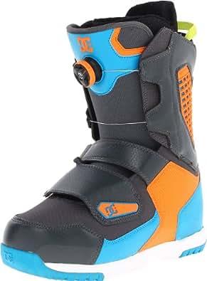 DC Men's Judge 13 Snow Boot,Grey/Blue,7 M US