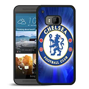 Grace Protactive Chelsea FC Logo Football Black Case Cover for HTC ONE M9