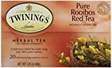 Twinings Tea Red African Rooibos Tea, 20 ct