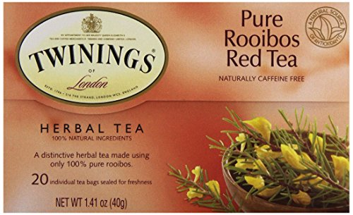 Twinings Tea Red African Rooibos Tea, 20 - Tea Rooibos Red