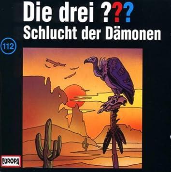 Die Drei Fragezeichen Folge 112 Schlucht Der Dämonen Die Drei 112 Amazon De Musik