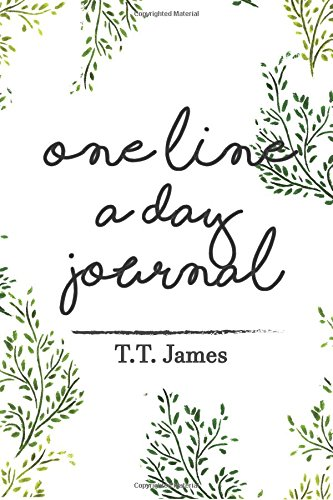 Download One Line A Day Journal: A Five Years Memory Diary Book: Mindfulness garden cover design (Within A Minutes Journal) (Volume 2) ebook