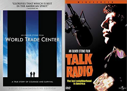 ble Bundle - Talk Radio & World Trade Center (2 Disc Commemorative Edition) 2 Feature Film DVD Set ()