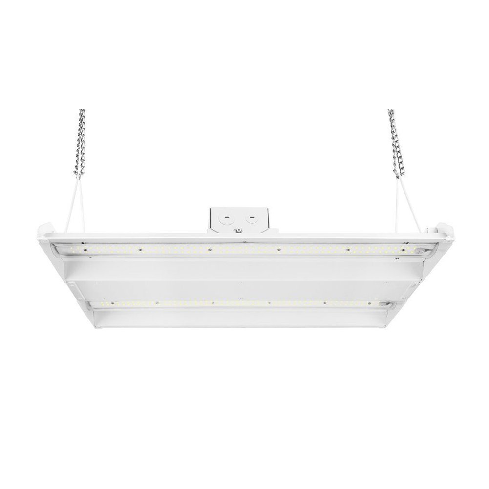 BEGOST 150W LED Linear High Bay Light, 2FT 5000K 20450Lm AC100-277V Warehouse Lighting Fixture with Chains, Junction Box and SOSEN Driver