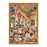 Sellmer Victorian Style Angels/Children Advent Calendar [Set of 2]
