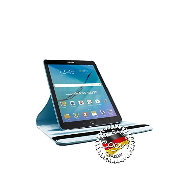 COOVY® 360° Rotation Cover FOR Samsung Galaxy Tab, Note UP TO 12.2 Inch 5