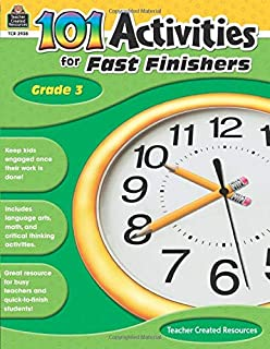 Activities for Fast Finishers: Math: 55 Reproducible Puzzles